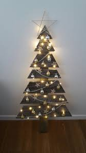How To Recycle Wall Christmas Trees  Christmas Decorations Christmas Trees That Hang On The Wall