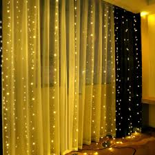 Curtain String Led Lights Remote Control Led Curtain String Lights