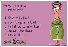 fold fitted sheet parenting is like folding a fitted sheet