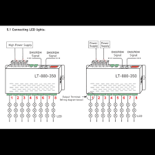 controller dmx 16x350ma lt 880 350 led controller dmx 16x350ma lt 880 350