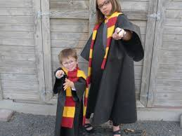 Harry Potter Robe Pattern Simple Easy OlyFun Harry Potter Costume W NoSew Option Fairfield World