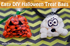 homemade halloween candy bags.  Bags Quick And Easy DIY Halloween Treat Bags Wwwthestitchinmommycom With Homemade Candy T