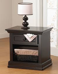 lusso nursery century collection night stand in espresso