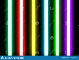 Neon Lights And Other Discharge Lamps Neon Lighting Tubes Sealed Glass Stock Image Image Of