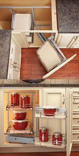 how to build a upper corner kitchen cabinet base blind corner with swing out to max