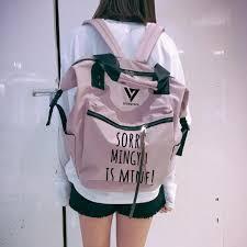 <b>2018 Kpop Harajuku</b> Backpack Idol Funny Seventeen 17 Backpacks ...