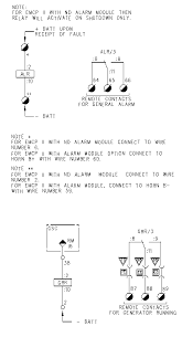 schematics and wiring diagrams emcpii for gas engines generator running relay and general alarm relay
