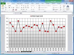 Excel Blood Sugar Log Blood Sugar Tracker Template For Excel