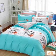 maylee high quality cotton 2pcs single fitted bedding set 450tc home sweet home