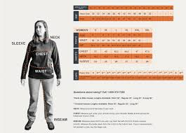 Fr Chart Rasco Fr Clothing Sizing Chart For Men And Women Fire