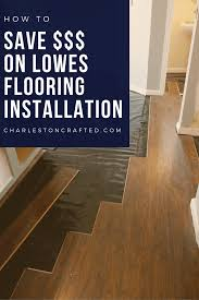 Kitchen Flooring Installation Why We Didnt Diy Our Kitchen Floors How To Save Money On Lowes