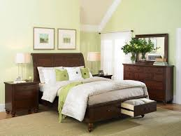 green bedroom furniture idea. cambridge king-size bed with sleigh headboard drawer storage footboard by aspenhome - belfort furniture washington dc, northern virginia, green bedroom idea g