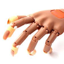 Adjustable Nail Art Model Hand False Nails Nail Practice Hand ...