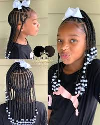 Pin by Priscilla Bradley on Children hairstyle in 2020 | Lil girl  hairstyles, Kids hairstyles girls, Braids for kids
