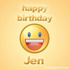 Image result for happy birthday jen
