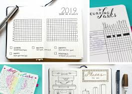 30 Super Trackers For Your Planner Daily Monthly Yearly Page