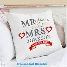 cushions wedding anniversary gift