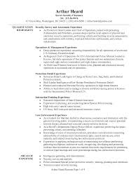 Marine Corps Resume Examples Ex Army Cv Example Security Samples