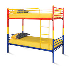 Nilkamal Bedroom Furniture Buy Nemo Bunk Bed Without Storage Home By Nilkamal Red Yellow