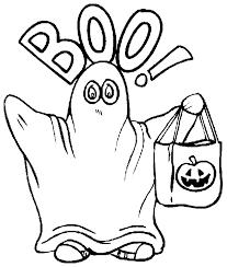Halloween Kleurplaat
