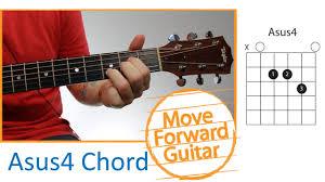 Guitar Chords For Beginners Asus4