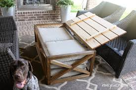 diy outdoor coffee tablecoffee table diy outdoor coffee table ana white for the deck