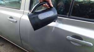 Auto Dent Removal Car Dent Repair With Hot Water And Toilet Plunger Diy Youtube