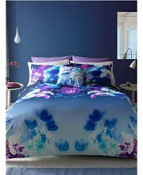 lipsy london mirrored orchid king size duvet cover and pillowcase set