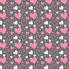 Heart Pattern Custom Heart Pattern Free Vector In Adobe Illustrator Ai Ai Vector