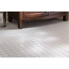 american olean sausalito white white ceramic mosaic wall tile common 12 in