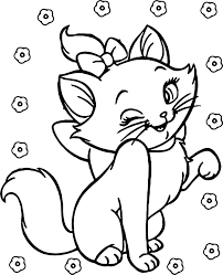 Small Picture Disney Aristocats Coloring Pages Elioleracom