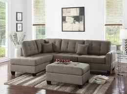 f6504 coffee 3 pcs sectional sofa set