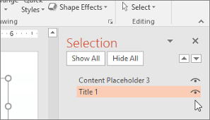 Making A Slide Make Your Powerpoint Presentations Accessible To People With