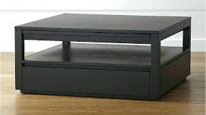 square coffee table black square coffee table black tourney square coffee table crate and barrel blackhawk square coffee table black
