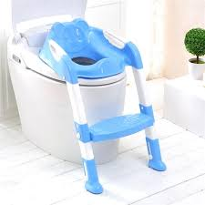 kids toilet seat cover pink blue baby potty seat with ladder children toilet seat cover kids