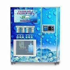 Ice Vending Machine Mesmerizing Ice Vending Machine With Bagged Ice RO Purification And SUS 48 SS