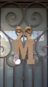 letters for front door56 best M images on Pinterest  Lyrics Monogram letters and Monograms