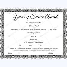 Certificates Simple Sample Retirement Certificate Template