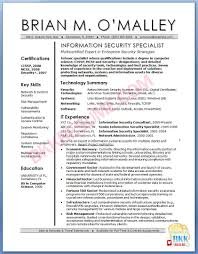 9 It Security Specialist Resume