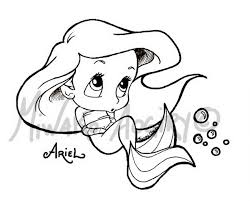 Small Picture Coloring Pages Ariel Printables Colouring Pages Disney Princess