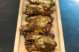 Chicken Wing Vending Machine Magnificent Money Meals Experience The Taste Of 48 Karat Gold Chicken Wings
