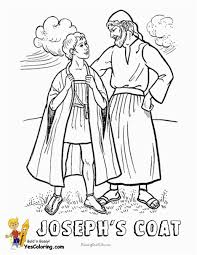 Coloring Pages Joseph And The Coat Of Many Colors Zabelyesayancom