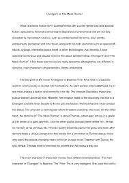 english essay assignment