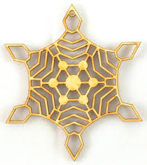 wood snowflake 5 ornament made in the ornaments star cutouts 3 x package of wooden star cutouts