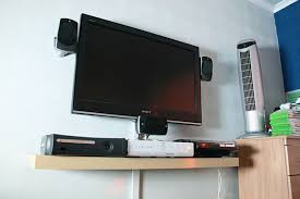 tv wall mount for video gaming