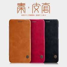 for Xiaomi mi6 case <b>leather</b> smart cover <b>Nillkin QIN leather</b> case for ...
