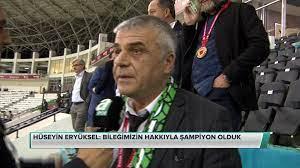 """A Spor on Twitter: """"#CANLI Hüseyin Eryüksel: Bileğimizin hakkıyla şampiyon  olduk. https://t.co/0stZg2TBan… """""""