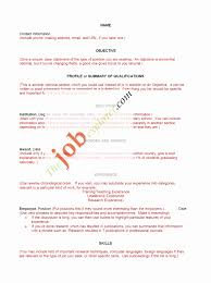Basic Resume Template Word Easy Resume Templates Template Example Simple Sample For Students 78