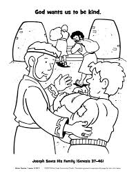 Small Picture Joseph and His Brothers Coloring Page toddlers Joseph