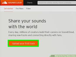 How To Get On The Soundcloud Charts 3 Ways To Put Your Music Online Wikihow